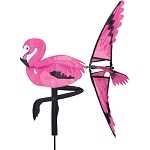 Pink Flamingo Spinner 21 in.