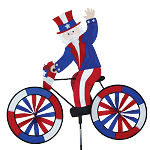 Uncle Sam Bicycle Spinner