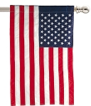 American Flag Estate Size House Flag
