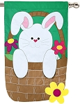 Bunny Basket House Flag