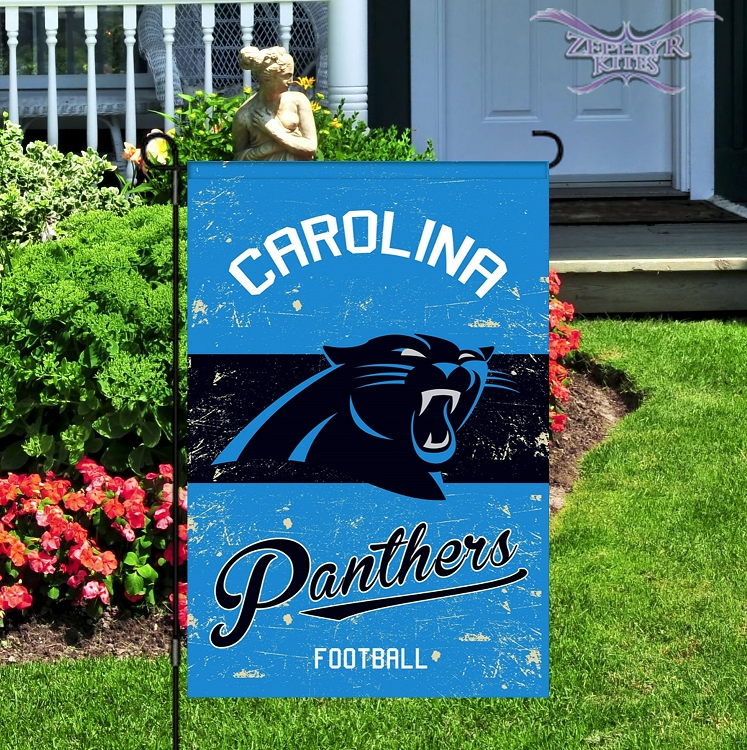 a26d7cd2 Home > Flags > NCAA & NFL Flags > Vintage Carolina Panthers Garden Flag
