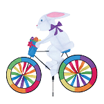 Easter Bunny Bicycle Spinner