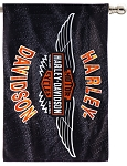 Harley Davidson Vintage B&S Wings Estate Flag