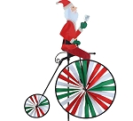 Swanky Santa Bicycle Spinner
