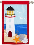 Lighthouse House Flag