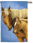 Mare Foal House Flag