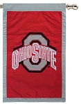 Ohio State Buckeyes House Flag