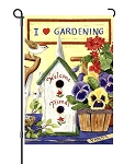 Pansies & Friends Garden Flag