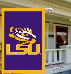 LSU Tigers House Flag