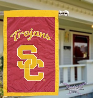 USC Trojans House Flag